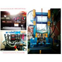 H-beam Production Line Integral Automatic Lincoln DC-1000 , NA - 3S , Hydraulic Straightening Unit