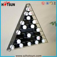China Hot sale retail acrylic golf ball display case/golf ball display boxes/golf ball display rack wholesale