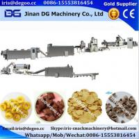 Quality Kelloggs cereal corn flakes coco ball ring pic snack food production line for sale