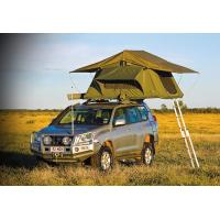 China Customized Pop Up Roof Top Tent , Aluminum Pole Roof Rack Mounted Tent wholesale