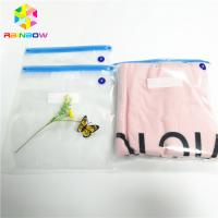 China Food Grade Plastic Pouches Packaging Custom Clear Vacuum Bag Zipper Top Heat Seal wholesale