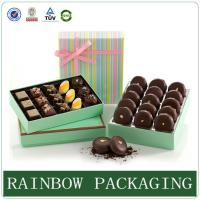 China Chocolate Paper Box Packaging , Product Packaging Box for Gift Wrapping wholesale