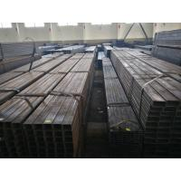China ERW Welded Square / Round / Rectangular Low Carbon Steel Pipe for Construction Q195~Q235 on sale