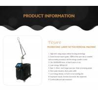 China 240v Pico Second Q Switched Nd Yag Laser Portable Laser Tattoo Removal Machine 755nm wholesale