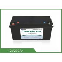 China Durable Lithium Smart 12V 200Ah , Rechargeable Lifepo4 Battery 2 Years Warranty wholesale