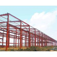 China Large Span Warehouse Steel Structure Building Corrosion Resistant High Strength Plate wholesale