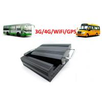 China 4 Channels Hard Disk 4G / 3G Mobile DVR School Bus WiFi GPS G - Force wholesale