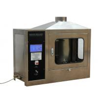 China EN 11925-2 Building Material Flammability Tester with Touch Screen Control wholesale