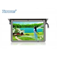 China 19 inch Motorized Roof Bus LCD Monitor with Stepper Motor , Built in SD / USB / HDMI Port wholesale
