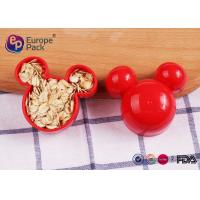 China Mickey Mouse Cookie Cutter Plastic Kitchenware 11G For Children 6.2Cm on sale