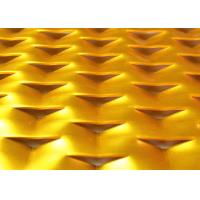 China Galden Triangular Hole Aluminum Expanded Metal Mesh For Sound Absorption wholesale