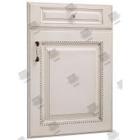 China Security Wooden Moulded Doors Melamine Pvc Composite Anti - Corrosion wholesale