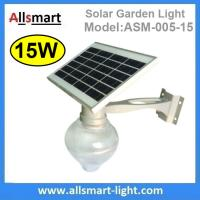 Buy cheap 15W Solar Parking Lot LED Light Solar Security Light LED Street Light With Solar Panel Mount On Lamp Pole Post from wholesalers