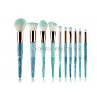 China 10pcs  Soft Synthetic Hair Mass Level Makeup Brushes Globle - Look wholesale