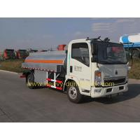 China Fuel Tank Truck  SINOTRUK HOWO 5m3 With Engine Chaochai And Cab 2080 wholesale