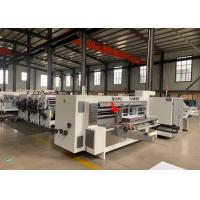China Model 2200 X 800 Corrugated Paperboard Automatic Slotter And Creaser Machine  / Diameter 270 mm wholesale