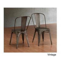 China Waterproof Metal Tolix Chairs Outdoor Dining For Industrial Steel Vintage Cafe wholesale