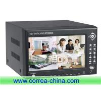 China Standalone DVR,H.264 DVR,Monitor DVR,DVR with 7 inch TFT monitor wholesale