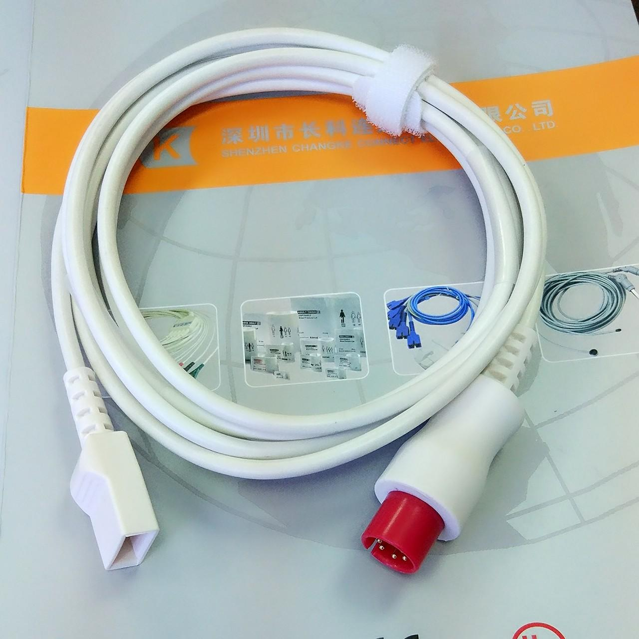China Generic AAMI Utah IBP cable to transducer IBP adapter cable wholesale