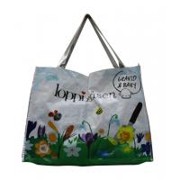 China LoppiPasen 120gsm Fabric Carrier Bags Water Proof , PP Woven Shopping Bags wholesale