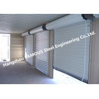 Buy cheap Residential Overhead Roll Up Industrial Steel Garage Doors With Fire Resistant from wholesalers