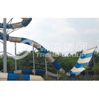 China Fiber Glass Aqua Park Equipment , Water Park Attractions for Hotel Project wholesale