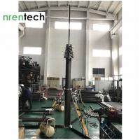 Quality 25m Lockable Pneumatic Telescopic Mast 30kg payloads- NR-3600-25000-30L for mobile telecom tower for sale
