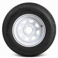China KT ST205/75D14 Bias Tire with 14 Inches White Wheel and C Load Range wholesale