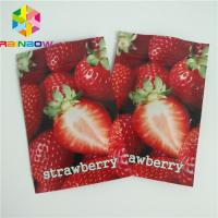 China Three Side Heat Seal Packaging Bags Small Size Mylar Moisture Barrier For Cotton Candy wholesale