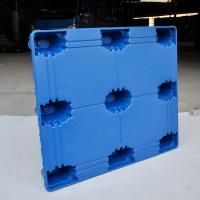 China 1300*1100*150mm Supports Heavy Loading  Long Lifespan and Recyclable Blow-molded Pallet  with Wear-resistant wholesale
