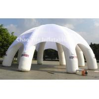 Quality 6m Diameter White Inflatable Dome Tent for outdoor event for sale