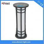 China Aluminum H60cm Garden Bollard Light Solar for Garden/Park Solar Lighting Solar Garden Lawn Lights Solar Sensor Lights wholesale
