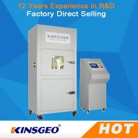 Quality 380V,50~60HZ Vacuum Tempered Battery Testing Machine Glass Observation Window Battery Crush Tester for sale