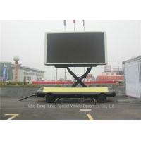 Buy cheap Mobile Led Display Trailer With Lifting System, High Defination LED Advertising Trailer from wholesalers