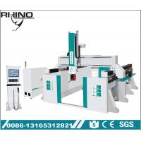China Syntec System Controlled 5 Axis CNC Router Machine For EPS Foam / Wood on sale