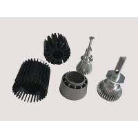 Buy cheap Black Aluminium Heatsink Extrusion With Anodizing Surface treatment +/- 0.005mm Tolerance from wholesalers