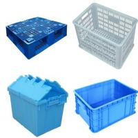 China Stainless Steel SUS304 Plastic Crate Washing Machine For Food / Poultry wholesale