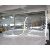 China Hot Sale Outdoor Inflatable Bubble Camping Tent with Single Tunnel wholesale