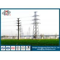 China 12M 10KV Electrical Power Pole With Hot Dip Galvanized For Power Transmission Line wholesale