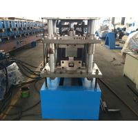 China 14 Stations Rack Roll Forming Machine C Size Drive By 1.0 Inch Chain wholesale