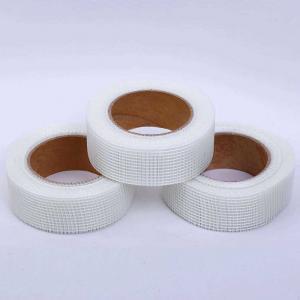 China 50mm X 20m Roll Fiberglass Drywall Joint Tape For Plasterboard Gap Repairing wholesale