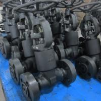 China Cryogenic Globe Forged Steel Valve Reduced Bore LF2  LF3 ISO 15848 LNG on sale
