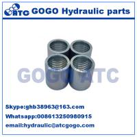 China Hydraulic Air Hose Couplings Fittings , CNC Machine Quick Connector Coupling on sale