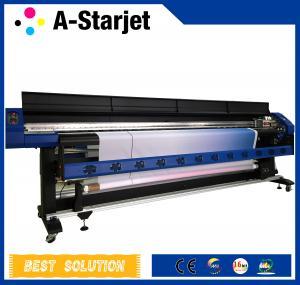 China Fabric Textile UV Inkjet Epson Eco Solvent Printer Large Format Printing Machine wholesale