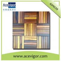 China Wood decoration mosaic wall panel for crafts wholesale