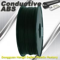 China Good elasticity universal ABS Conductive 3d Printer Filament in Black wholesale