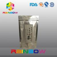 China Silvering Stand Up Tea Bags Packaging , Customized Print Foil Pouch wholesale