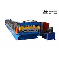 China Popular Floor Deck Roll Forming Machine Galvanized Steel Roofing Sheet Making Machine wholesale