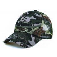 China 100% Polyester Mesh Unisex Adjustable Sport Casual Cap wholesale