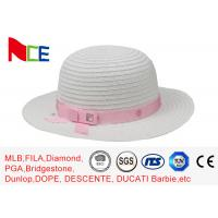 China Summer Knitted Fisherman Bucket Hat Flat visor For Women Sunshade wholesale